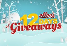 Ellen's 12 Days of Giveaways Winners 2017