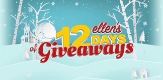 Ellen's 12 Days of Giveaways Winners 2017
