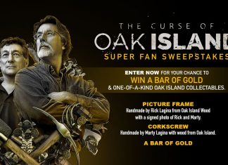History Channel The Curse Of Oak Island Sweepstakes