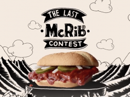 2017 McDonald's The Last McRib Contest