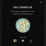 Chili Chandelier