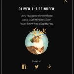 Oliver the Reindeer