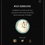 Wild Cuddlefox
