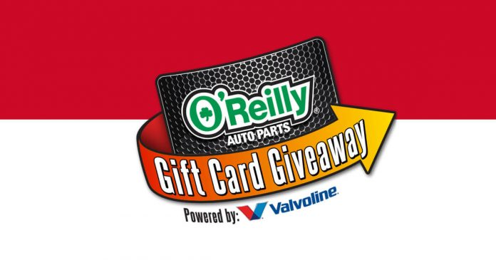 O'Reilly Auto Parts Gift Card Giveaway