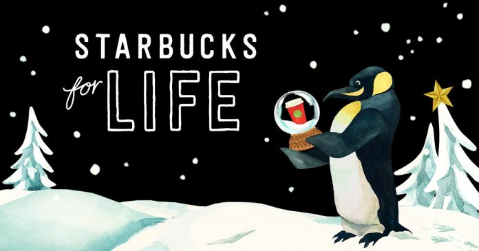 Starbucks For Life Game 2017