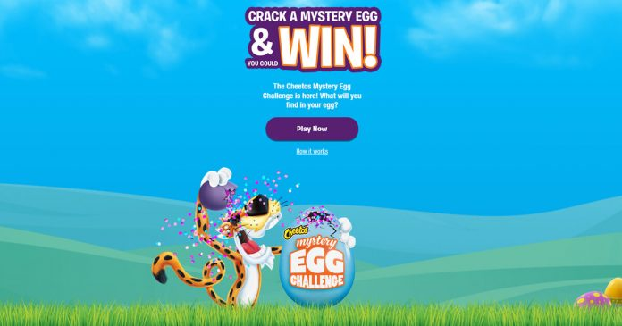 Cheetos Easter Mystery Egg Challenge