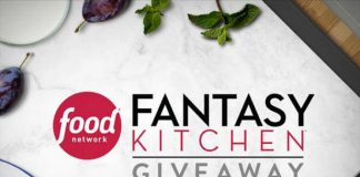 Food Network Fantasy Kitchen Giveaway 2018