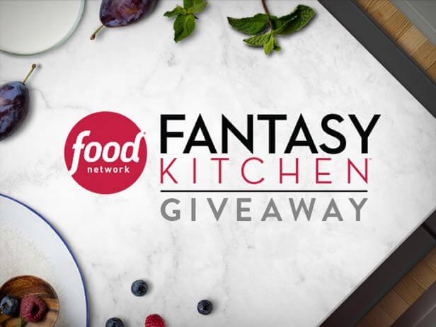 Superbe Food Network Fantasy Kitchen Giveaway 2018
