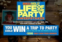 Mike And Molly Life of the Party Sweepstakes