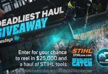 Discovery Channel & STIHL Deadliest Haul Giveaway