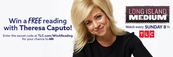 TLC Win A Long Island Medium Reading with Theresa Caputo Sweepstakes