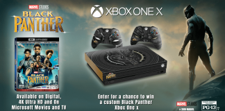 Black Panther Xbox Sweepstakes