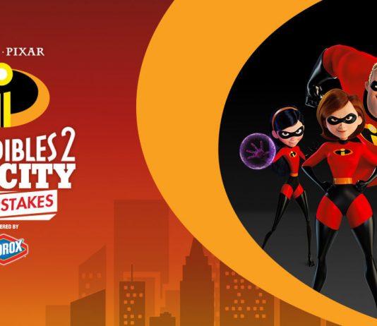 Disney Pixar Incredibles 2 Big City Sweepstakes