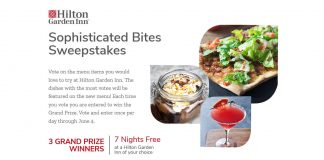 Food Network Hilton Sophisticated Bites Sweepstakes
