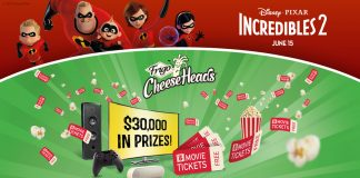 Frigo Cheese Heads Incredibles 2 Instant Win Game