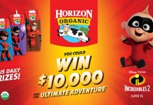 Horizon Organic Incredibles 2 Sweepstakes
