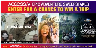 Access Hollywood Universal Studios Contest