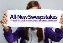 All-New Sweepstakes 2018
