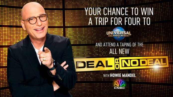 CNBC Deal Or No Deal Sweepstakes