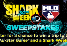 Discovery Channel Shark Week MLB Network Sweepstakes