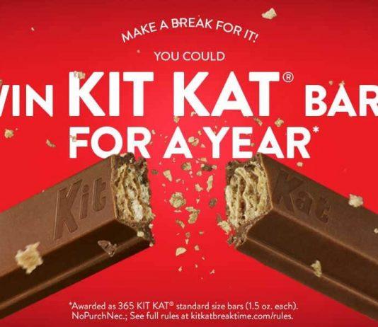 Kit Kat Summer 2018 Twitter Sweepstakes
