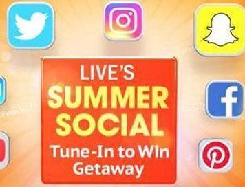 LIVE Kelly And Ryan Summer Social Tune In to Win 2018 Sweepstakes