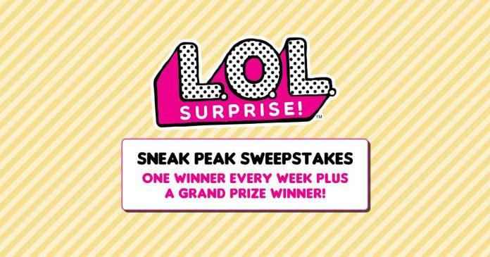 L.O.L. Surprise! Sneak Peek Sweepstakes