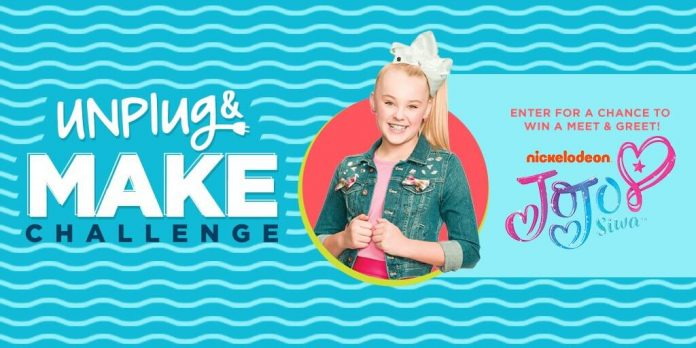 Michaels Unplug and MAKE Jojo Siwa Sweepstakes
