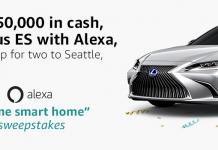 Alexa Home Smart Home Sweepstakes