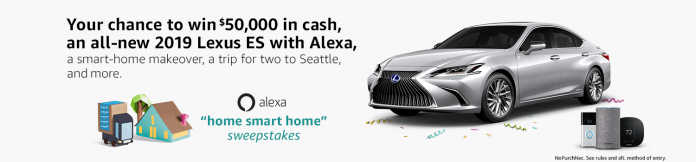 Alexa Home Smart Home Sweepstakes