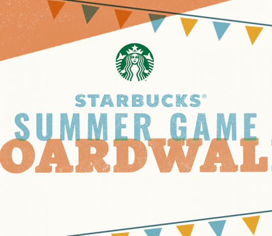 Starbucks Summer Game 2018