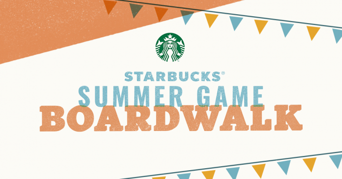 Starbucks Summer Game 2018
