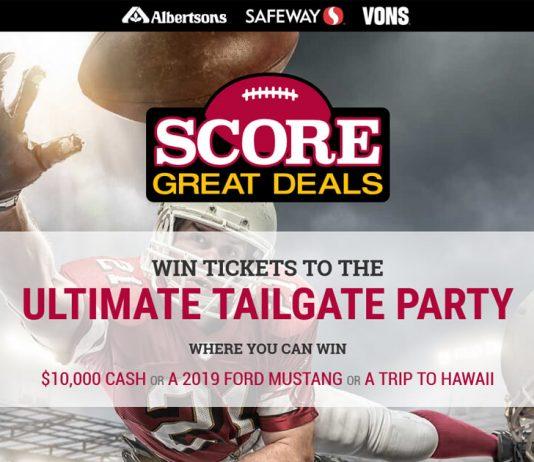 Safeway Score Great Deals Sweepstakes