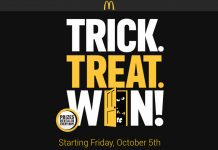 Trick Treat Win Game at McDonald's
