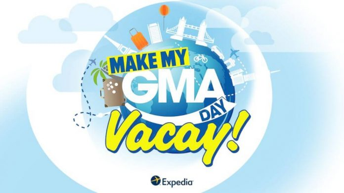 Good Morning America Make My GMA Day Vacay Contest