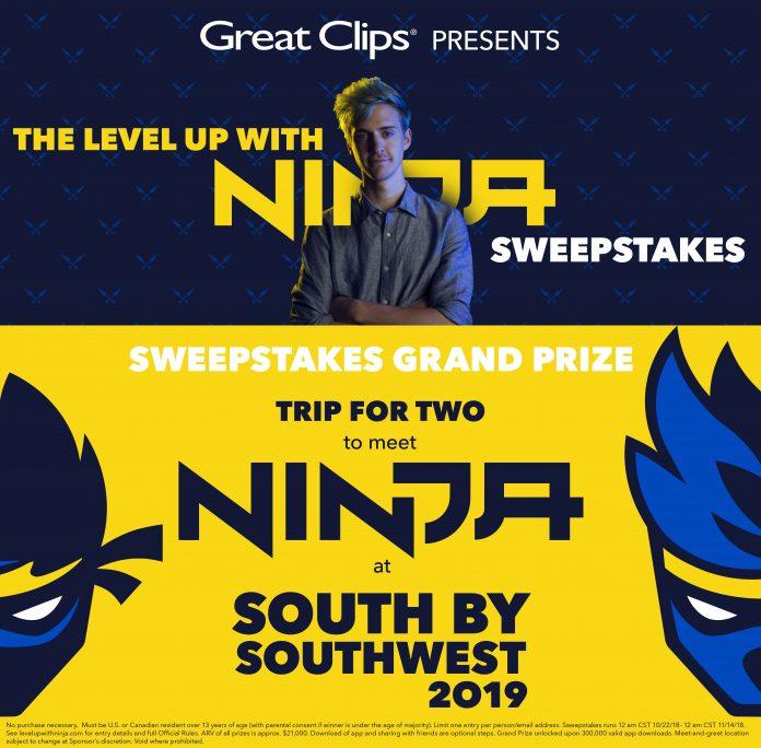 Level Up With Ninja Sweepstakes