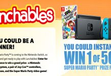 Lunchables Nintendo Mario Party Giveaway