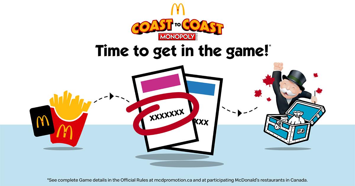 Mcdonalds Monopoly 2019