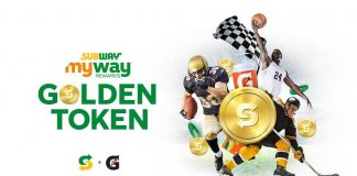 Subway Golden Token Instant Win Game