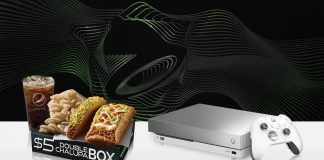 Taco Bell Xbox Giveaway