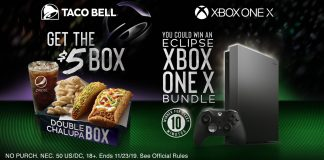 Taco Bell Xbox One X Contest 2019