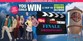 Big Bang Theory Series Finale Sweepstakes