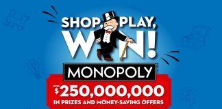 Safeway Monopoly 2020