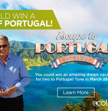 Wheel Of Fortune Escape to Portugal Giveaway