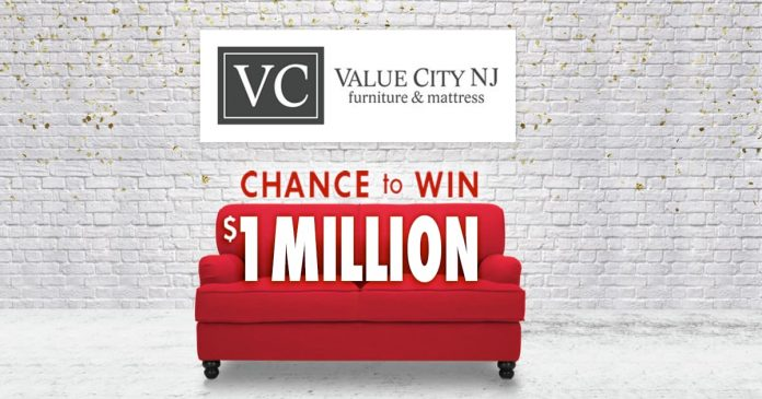 Value City Furniture $1,000,000 Check Number Guess Contest