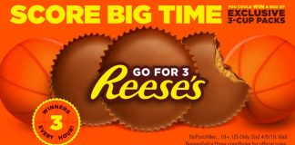 Reese's March Madness Instant Win Game