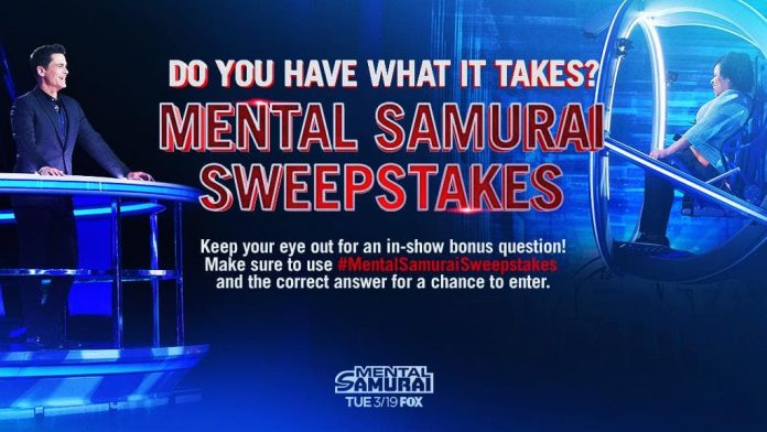 Mental Samurai Bonus Question Twitter Sweepstakes