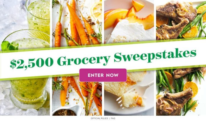 Better Homes And Gardens 2 500 Grocery Sweepstakes Winzily