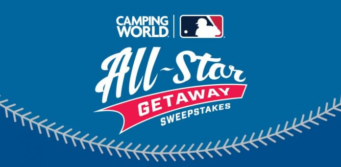 Camping World MLB All-Star Getaway Sweepstakes