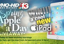 Channel 13 Apple A Day Giveaway
